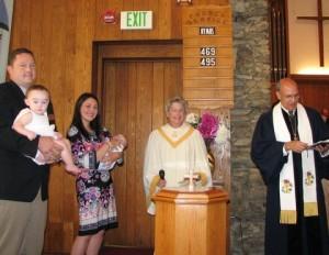 Beau Wilder Ennis Baptism 1