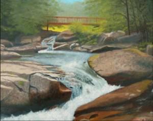 Banner Elk Stream and Bridge