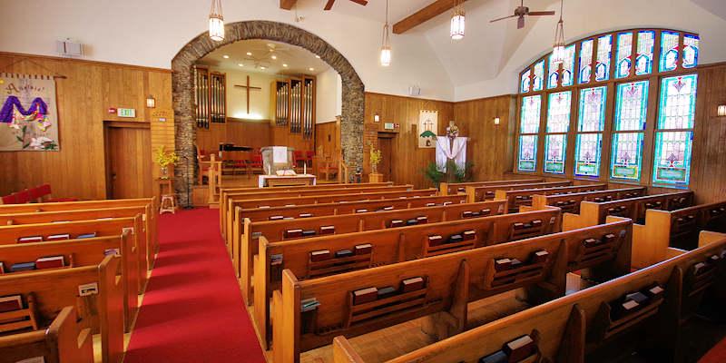 Banner Elk Presbyterian Church Sanctuary
