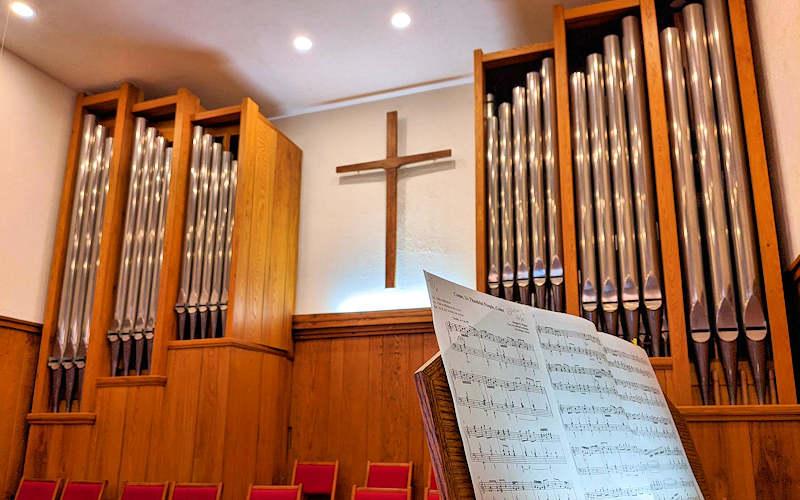 Organ at Banner Elk Presbyterian