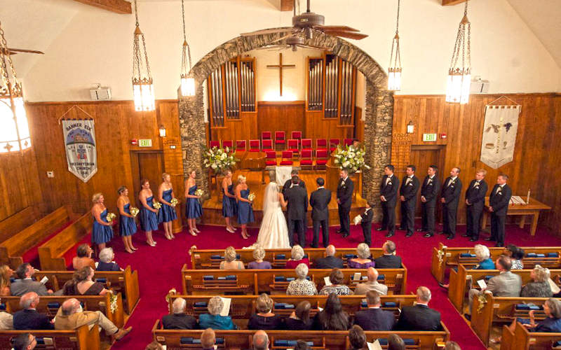 Weddings Banner Elk Presbyterian Church