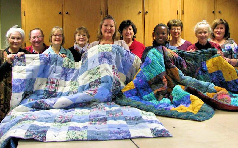 Quilt Making at Banner Elk Presbyterian Church