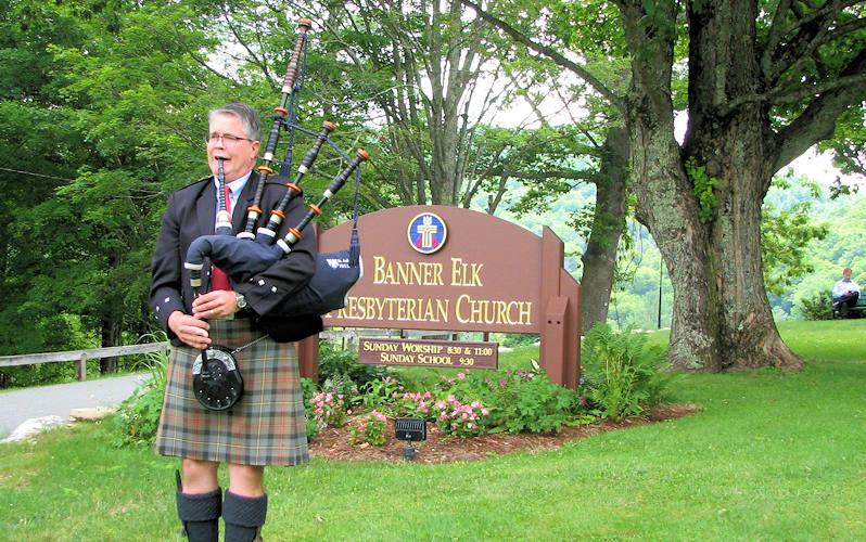 Kirkin of the Tartans, Banner Elk Presbyterian Church NC